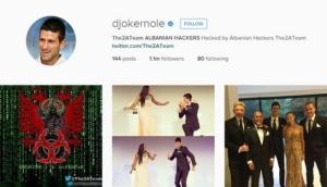 Albanski hakeri hakovali Instagram profil Novaka Đokovića!