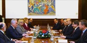 Beograd: Turski premijer Davutoglu razgovarao sa srbijanskim predsjednikom Nikolićem