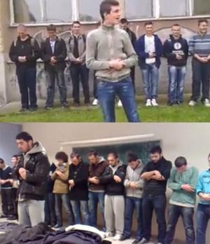 Prištinski srednjoškolci na akšamu u učionici [Video]