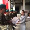 Kosova Türkiye Büyükelçisi Kıvılcım Kılıç, Türk Temsil Heyeti bünyesinde görev sürelerini dolduran askerlere madalya ve sertifika verilmesi törenine katıldı