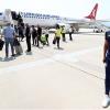 Fenerbahçe kafilesi Makedonya'ya geldi