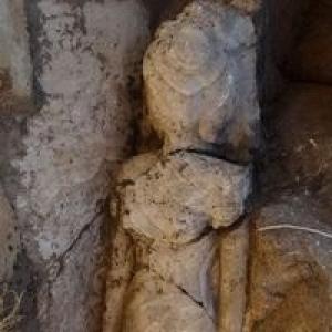 Mısır'da antik heykel bulundu