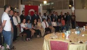 Türkiye'de Eğitim Gören Yabancı Uyruklu Öğrenciler Birliği İftar Yemeği Düzenledi
