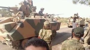 Türkmen Birlikler Türk tanklarını karşıladı