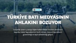 Türkiye Batı medyasının ahlakını bozuyor