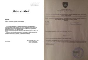 Kosova, Prizren Anıtlar Koruma Enstitüsü Prızren Post-un Türkiye'de Başarısız Darbe Girişimi ile İlgili Fotoğraf Sergisini Reddetti [belge]
