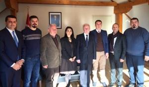 Prizren Belediyesi'nden Başkonsolos Evcit'e Geçmiş Olsun Ziyareti